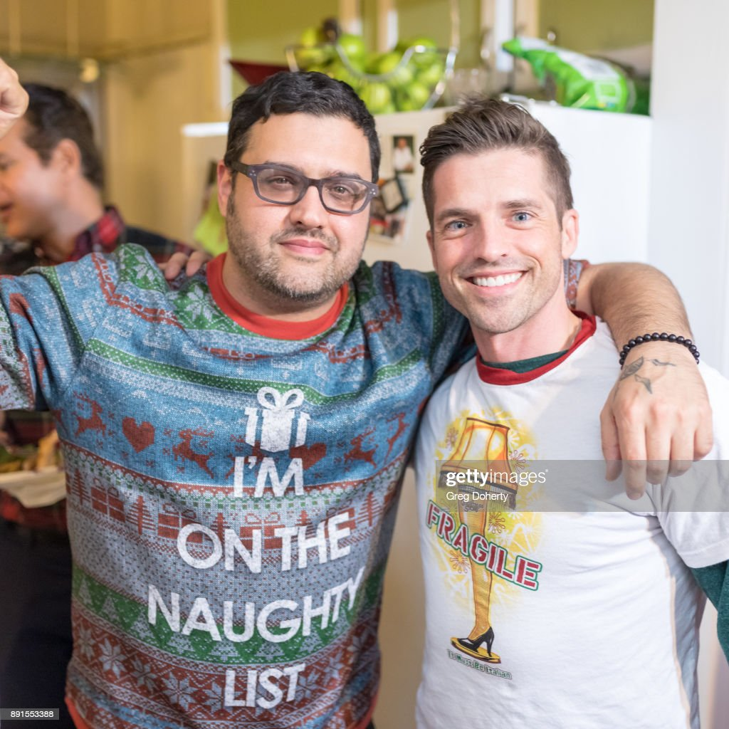 The Bay - Ugly Sweater And Secret Santa Christmas Party : News Photo