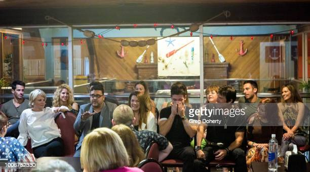 Gregori J Martin and the cast answer questions about the show at The Bay Cast Host Fan Appreciation Event on July 27 2018 in Glendale California