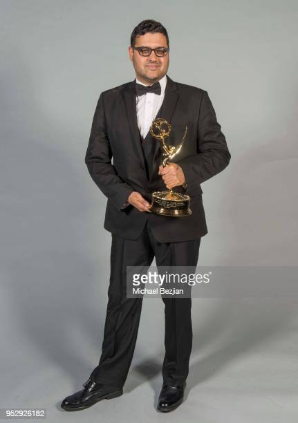 Gregori J Martin poses for portrait at 45th Daytime Emmy Awards Portraits by The Artists Project Sponsored by the Visual Snow Initiative on April 29...