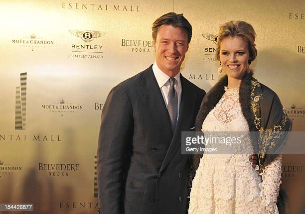 Gregorio Marsiaj and supermodel Eva Herzigova dazzle at a VIP party to open Capital Partners' luxury Esentai Mall as global fashion brands look to...