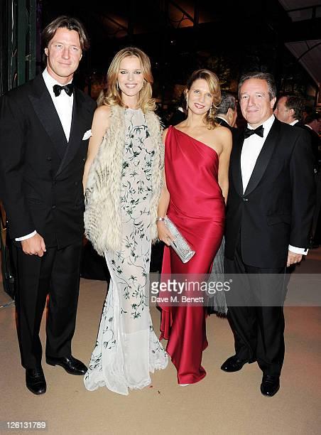Gregorio Marsiaj Eva Herzigova Katia NeverovaDe Keerle and Georges De Keerle attend a champagne reception at the Raisa Gorbachev Foundation Gala held...