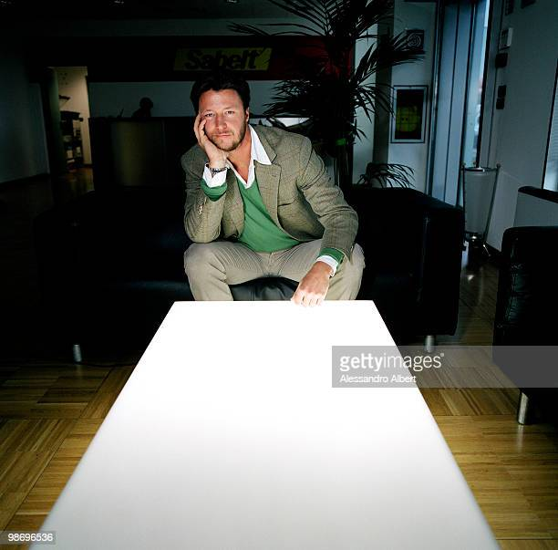 Gregorio Marsiaj of the Sabelt poses for a portrait session on January 22 2007 in Turin Italy