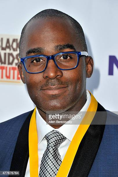 Gregorio Millett attends the Black AIDS Institute 2015 Heroes in the Struggle Reception Gala and Awards Ceremony at Directors Guild Of America on...