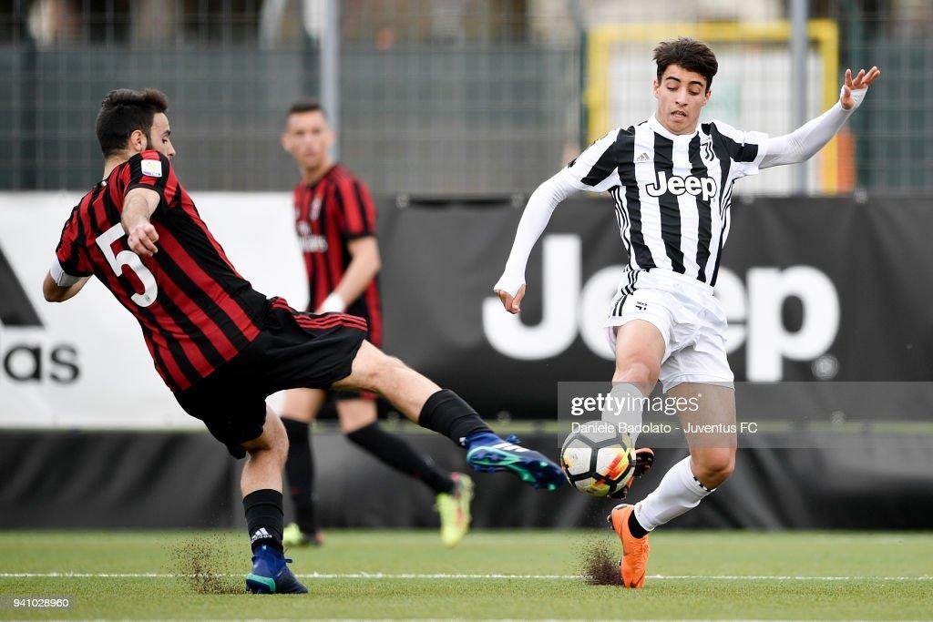 Juventus U19 v AC Milan U19 - Serie A Primavera : News Photo