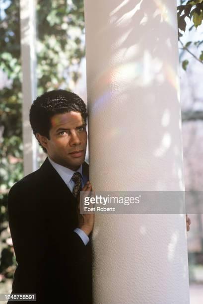 Gregory Abbott in New York City on February 26, 1988.