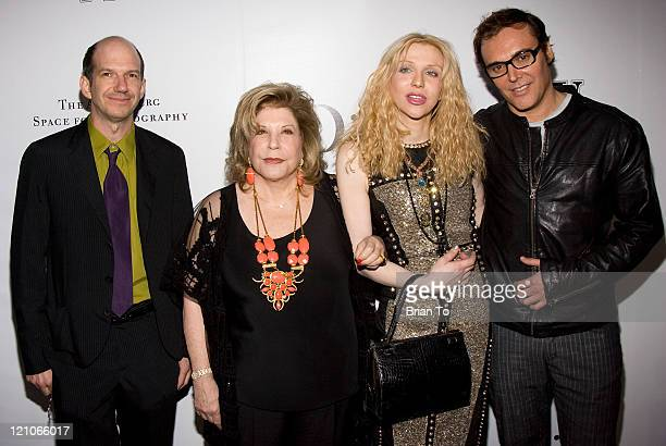 Gregory Annenberg Weingarten Wallis Annenberg Courtney Love and David LaChapelle attend W Magazine Christian Dior Celebrate Opening of The Annenberg...