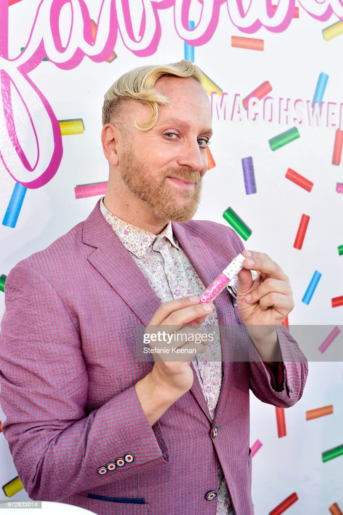 Gregory Arlt attends MAC Cosmetics Oh Sweetie Lipcolour Launch Party in Beverly Hills on June 12, 2018 in Beverly Hills, California.