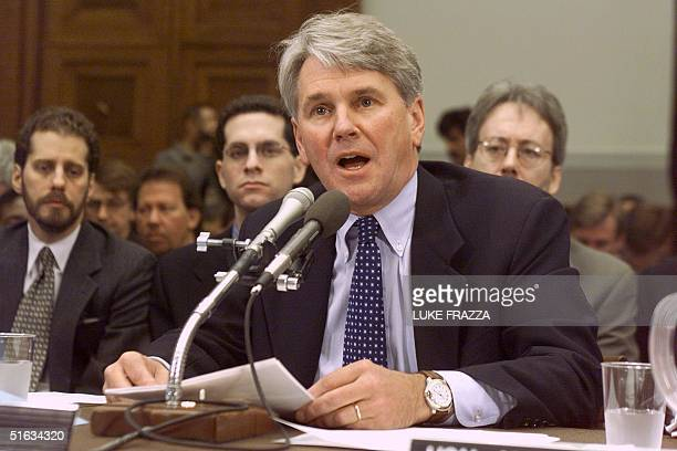 Gregory B Craig assistant to the President and Special Counsel makes an introductory statement outlining President Clinton's defense 08 December...