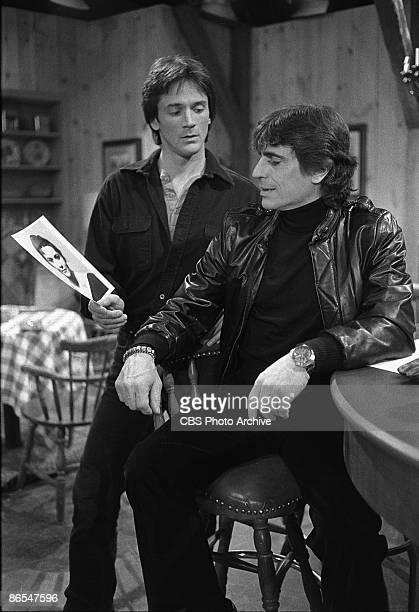 LIGHT Gregory Beecroft as Tony Reardon left and Edward Vilella as Eddie Image dated January 28 1983