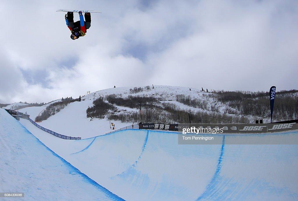 2016 U.S. Snowboarding Park City Grand Prix - Snowboard Halfpipe Qualifiers