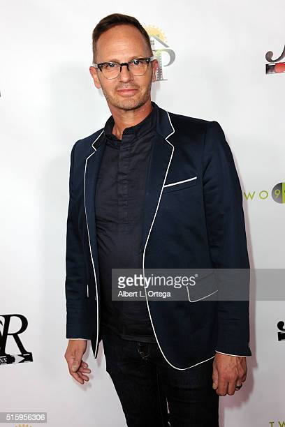 Gregory Brown arrives for the Premiere Of JR Productions' Halloweed held at TCL Chinese 6 Theatres on March 15 2016 in Hollywood California