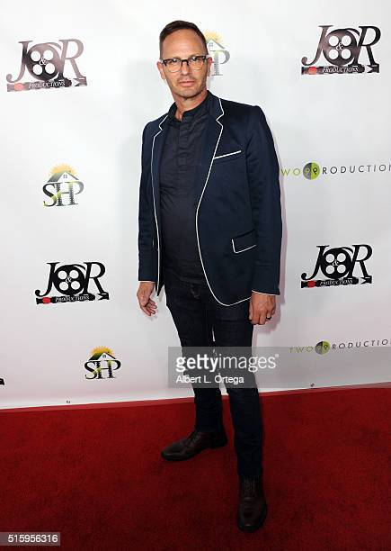 Gregory Brown arrives for the Premiere Of JR Productions' 'Halloweed' held at TCL Chinese 6 Theatres on March 15 2016 in Hollywood California