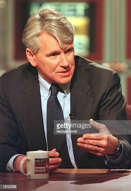 Gregory Craig attorney for Juan Miguel Gonzalez speaks about US relations with Cuba on NBC's ''Meet the Press'' in Washington DC April 9 2000