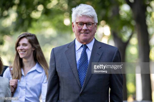 Gregory Craig former White House lawyer arrives to federal court in Washington DC US on Monday Aug 12 2019 Craig who served as White House counsel...