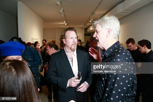Gregory De La Haba attends the Swiss Wine Valais Loves New York hosted by Gregory de la Haba Billy The Artist Anthony HadenGuest and Raul Zamudio at...
