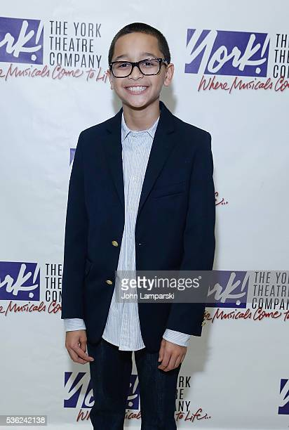 Gregory Diaz attends 'You're A Good Man Charlie Brown' opening night after party at Dylan's Candy Bar on May 31 2016 in New York City