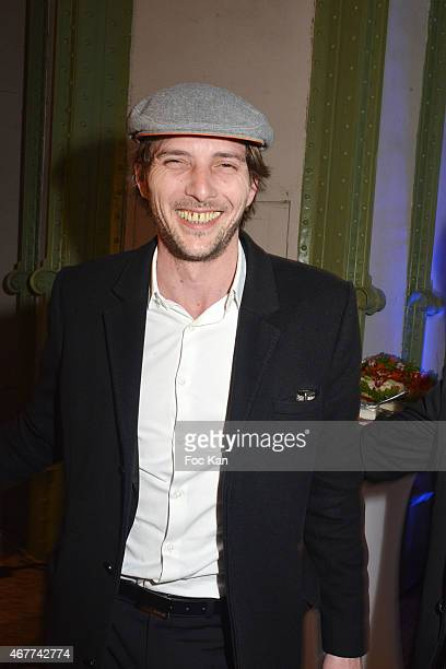 Gregory Ferrie attends the 'Diamond Night by Divinescence Vendome' Harumi Klossowska Jewellery Exhibition Preview As Part Of Art Paris Art Fair at...