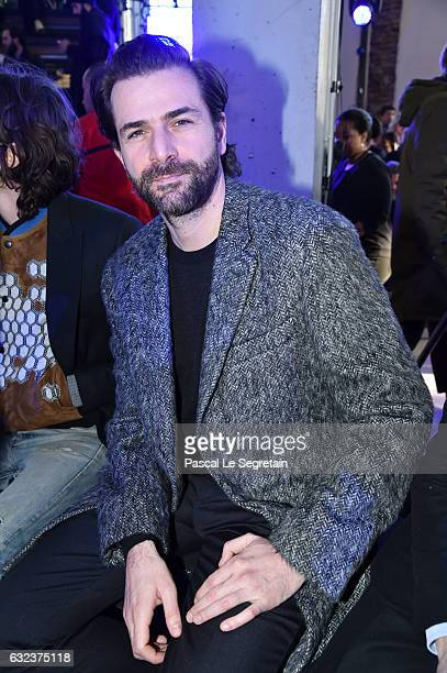 Gregory Fitousi attends the Lanvin Menswear Fall/Winter 20172018 show as part of Paris Fashion Week on January 22 2017 in Paris France