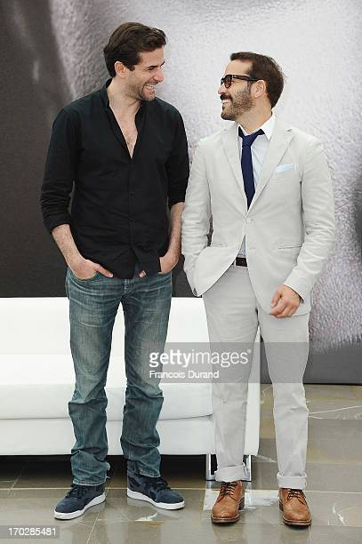 Gregory Fitoussi and Jeremy Piven pose at 'Mr Selfridge' Photocall during the 53rd Monte Carlo TV Festival on June 10 2013 in MonteCarlo Monaco