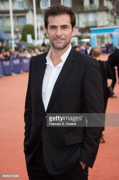 Gregory Fitoussi arrives at the closing ceremony of the 43rd Deauville American Film Festival on September 9 2017 in Deauville France