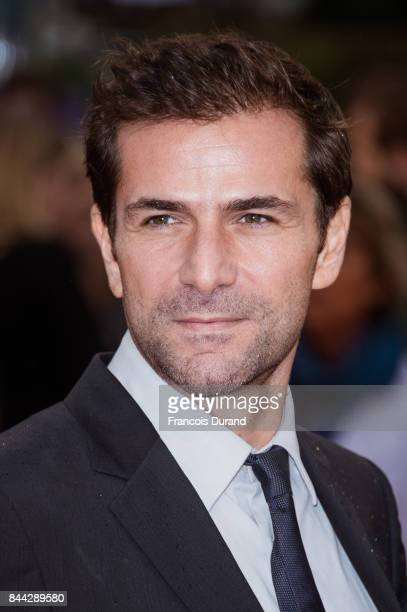 Gregory Fitoussi arrives at the screening for 'mother' during the 43rd Deauville American Film Festival on September 8 2017 in Deauville France