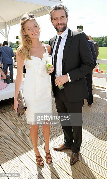 Gregory Fitoussi attends day 1 of the Audi Polo Challenge at Coworth Park Polo Club on August 3 2013 in Ascot England