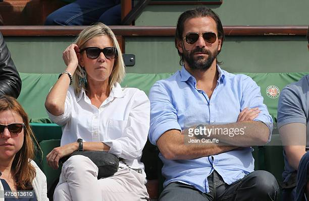 Gregory Fitoussi attends day 5 of the French Open 2015 at Roland Garros stadium on May 28 2015 in Paris France
