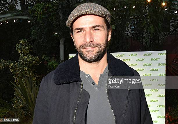 Gregory Fitoussi attends the Acer 40th Anniversary at Musee Des Arts Forains on September 20 2016 in Paris France