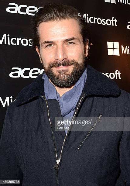 Gregory Fitoussi attends the Acer Pop Up Store Launch Party at Les Halles on November 20, 2014 in Paris, France.