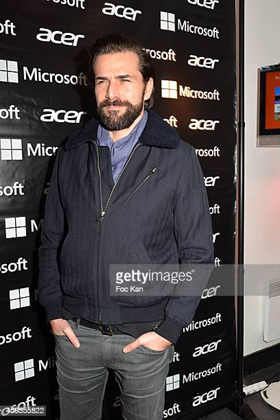 Gregory Fitoussi attends the Acer Pop Up Store Launch Party at Les Halles on November 20 2014 in Paris France