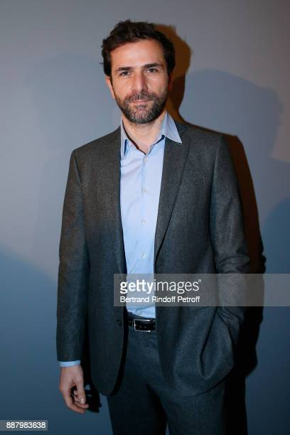Gregory Fitoussi attends the Annual Charity Dinner hosted by the AEM Association Children of the World for Rwanda at Pavillon Ledoyen on December 7...