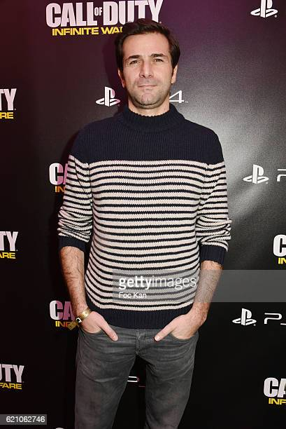 Gregory Fitoussi attends the ÔCall of Duty Infinite WarfareÕ Launch Party at Paris on November 3 2016 in Paris France