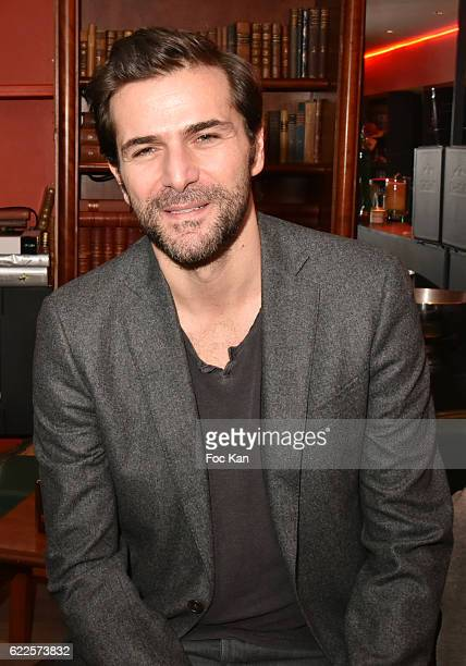 Gregory Fitoussi attends the Cocoche Restaurant Dinner Party during the'Cinema Et Musique De Film 2016' 3rd Festival At La Baule Day Three on...