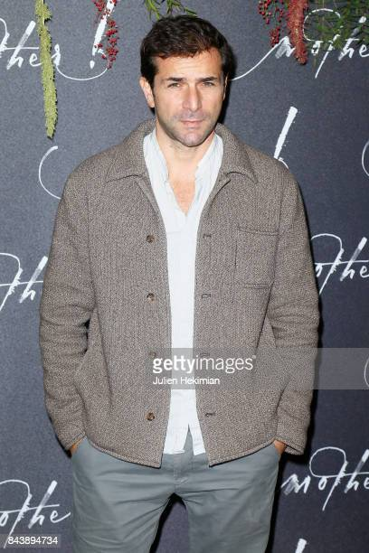 Gregory fitoussi attends the French Premiere of 'mother' at Cinema UGC Normandie on September 7 2017 in Paris France