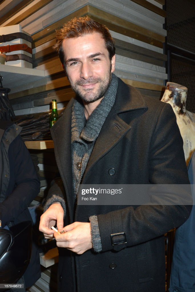 Gregory Fitoussi attends the MCS 'We The People' launch party at MCS Champs Elysees on November 27, 2012 in Paris, France.
