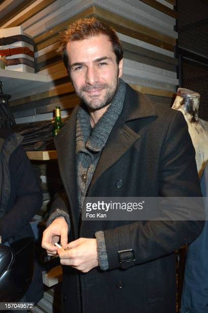 Gregory Fitoussi attends the MCS 'We The People' launch party at MCS Champs Elysees on November 27 2012 in Paris France