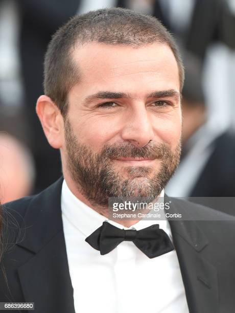 Gregory Fitoussi attends 'The Meyerowitz Stories' premiere during the 70th annual Cannes Film Festival at Palais des Festivals on May 21 2017 in...