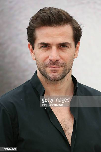 Gregory Fitoussi poses at 'Mr Selfridge' Photocall during the 53rd Monte Carlo TV Festival on June 10 2013 in MonteCarlo Monaco