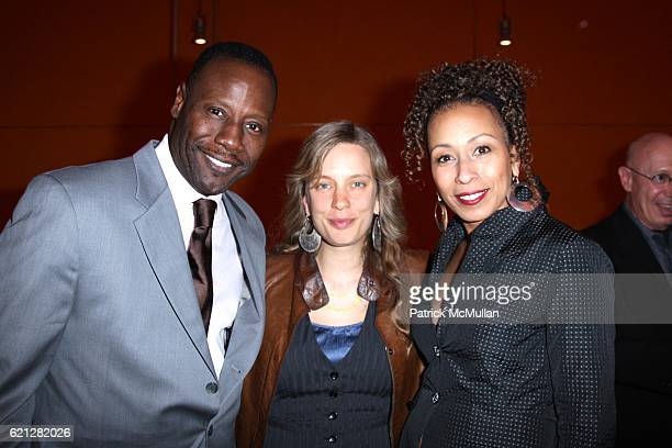 Gregory Generet Morley and Tamara Tunie attend A Night of Film Fashion and Fun to Benefit BYKIDS Their World Their Films at TheTimesCenter on May 10...