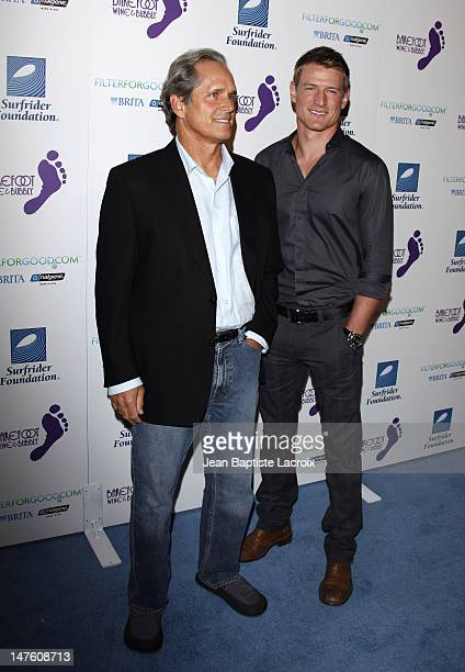Gregory Harrison and Philip Winchester arrives at The Surfrider Foundation's 25th Anniversary Gala at the California Science Center's Wallis...