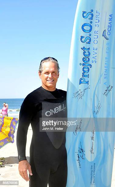 Gregory Harrison attends the 2009 Project Save Our Surf 1st Annual Surfathon and Oceana Awards at Ocean Park Beach on April 5 2009 in Santa Monica...