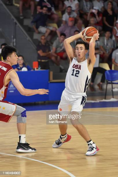 Gregory Hemenway of USA during the match between USA and China valid for the preliminary round of the women Basketball tournament at PalaJacazzi on...