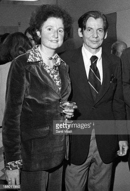 Gregory Hemingway and wife on October 10 1975 in New York New York