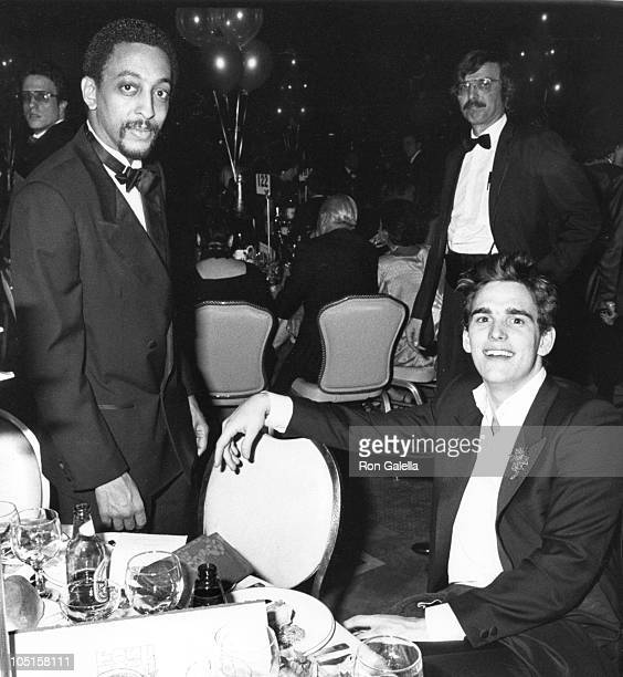 Gregory Hines and Matt Dillon during Post Party for 'Night of 100 Stars' at The New York Hilton in New York City NY United States