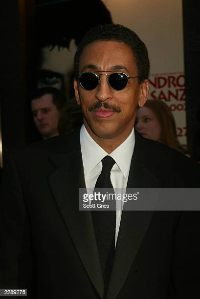 Gregory Hines arrives for the 56th Annual Tony Awards at Radio City Music Hall New York City June 2 2002 Photo by Scott Gries/ImageDirect
