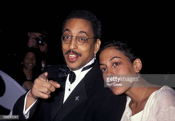 Gregory Hines & Daughter Daria during 52nd Annual Tony Awards at Radio City Music Hall in New York City, NY, United States.