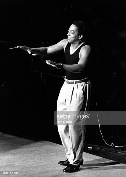"""Gregory Hines during Dionne Warwick's 2nd Annual AIDS Benefit """"With A Little Help From Her Friends"""" at Licoln Center Avery Fisher Hall in New York..."""