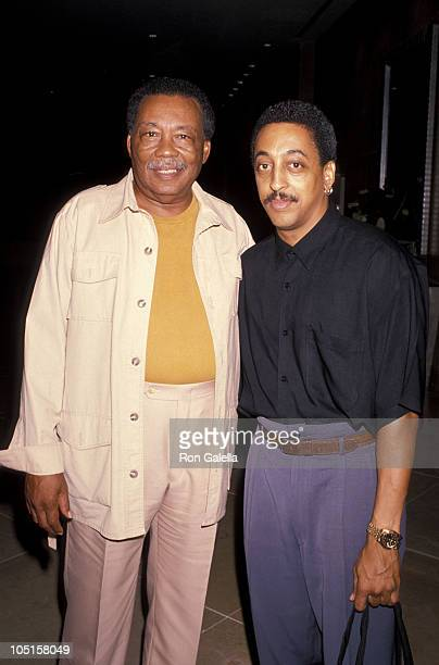 Gregory Hines Father Maurice during Parkinsons Research Gala at Beverly Hilton Hotel in Beverly Hills CA United States