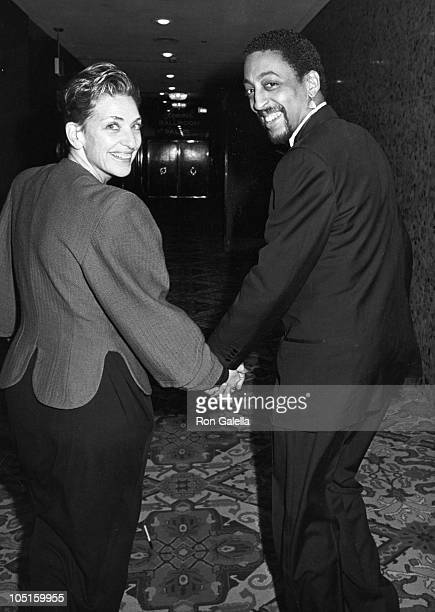 Gregory Hines Pamela Koslow Hines during AFI Life Achievement Awards Honoring Gene Kelly at Beverly Hilton Hotel in Beverly Hills CA United States