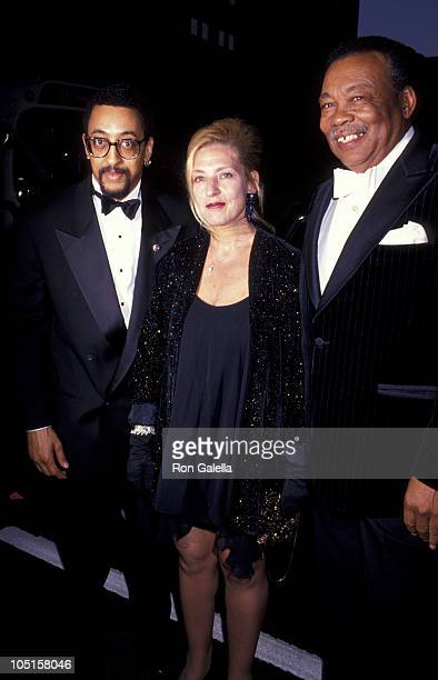 Gregory Hines, Wife & Father during NY Dance Theater of Harlem Annual Spring Gala at Manhattan Theater in New York City, NY, United States.